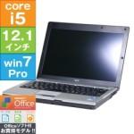 NEC 12.1型ノートPC VersaPro が中古特価!(i5/2GB/SSD62GB/Win7Pro/1.2kg)