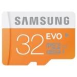SAMSUNG SD変換アダプタ付 高速 microSDHCカード 32GB がタイムセール特価!