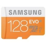 【タイムセール】SAMSUNG SD変換アダプタ付 高速 microSDHCカード 128GB が特価!