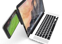 【Mountie(マウンティ)】ディスプレイに iPad/iPhone/スマホ などを取り付けられるアダプタ