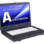 Core i5搭載 の 富士通製 15.6型 ノートPC のリファビッシュ品が 激安 24,990円!(i5/4GB/160GB/Win7Pro)