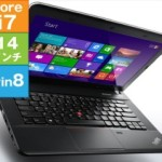 Lenovo ThinkPad E440 [20C5CTR1WW] がリファビッシュ特価!(i7/8GB/500GB/14inch/Win8.1)
