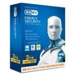 ESET ファミリー セキュリティ 5台3年版が激安特価!Windows、Mac、Androidに対応!