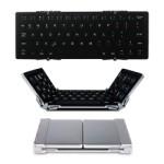 【激安特価】EC Technology Bluetooth 折りたたみ式ワイヤレスキーボード