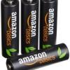 【激安特価】Amazonベーシック 高容量充電式ニッケル水素電池 単3形4個パック(2400mAh)